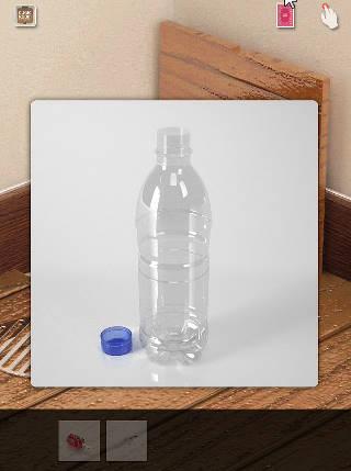 cubic room攻略 ペットボトル 蓋を取る