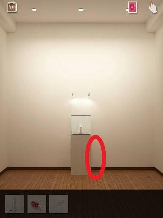 cubic room攻略 台の側面