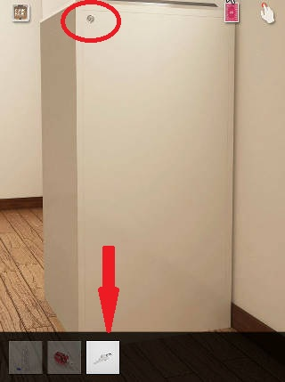 cubic room攻略 銀色の鍵で開ける