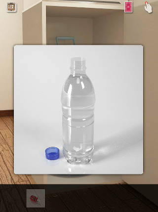 ペットボトル満水