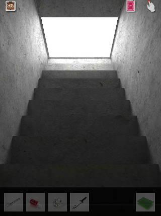 さらに階段上る